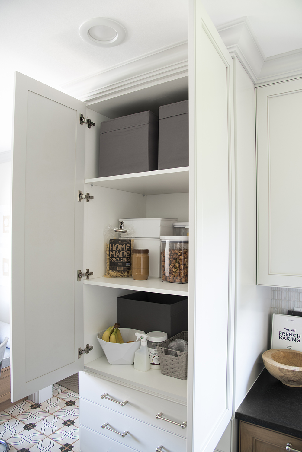 Floor To Ceiling Pantry Cabinet In Kitchen Room For Tuesday