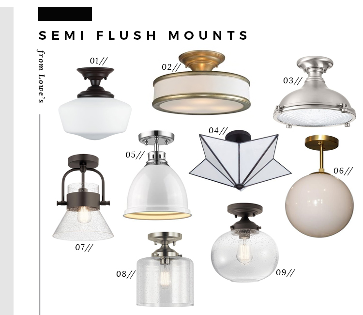 The Best Semi Flush Mount Lights From